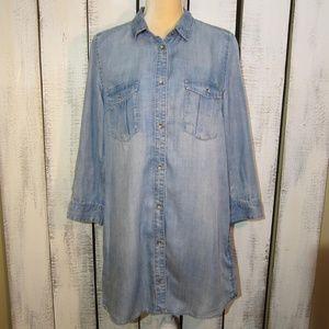 H&M Denim Tunic Size 10